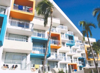??  ?? The colourful Star Palace Beach Hotel in Mazatlan is one of a growing number of impressive accommodations.