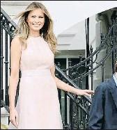 ?? DOULIERY OLIVIER/ABACA USA / GTRES ?? Melania y Barron Trump