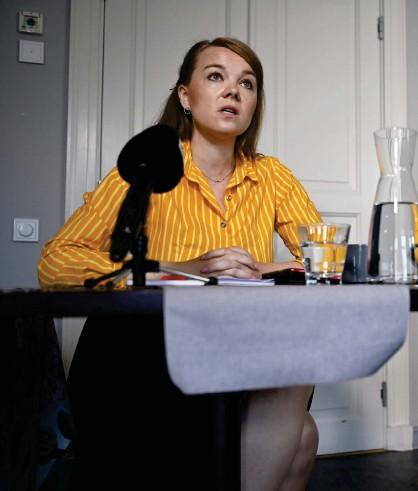 ?? FOTO: ANTTI AIMO-KOIVISTO/LEHTIKUVA ?? Katri Kulmuni framhåller att hennes arbete ännu inte mätts i ett enda val. Annika Saarikko säger att partierna inte finns till enbart för valens skull, utan också för hur verksamheten ser ut däremellan.