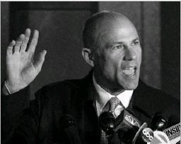 """?? Don Emmert/agence Francepresse ?? Michael Avenatti denied the charges against him. """"I look forward to the entire truth being known as opposed to a onesided version meant to sideline me,"""" he said."""