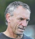 ??  ?? IN HOT WATER: Frustrated Titans coach Neil Henry.