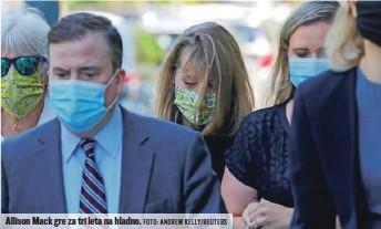 ?? FOTO: ANDREW KELLY/ REUTERS ?? Allison Mack gre za tri leta na hladno.