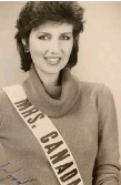 """??  ?? Russell represented Canada at the first """"Mrs. World"""" pageant, held in Hawaii in the early 1980s."""