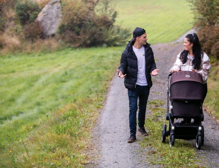 ??      ALICE BRATSHAUG ?? Simon og Regine Wiig Andersen ønsker at folk skal vite at det er langt fra umulig å få barn til tross for at man har PCOS.