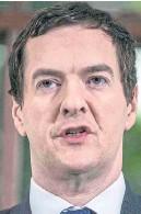 ??  ?? Mr Osborne spoke of unity of spirit