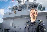 ?? PHOTO / FILE ?? HMNZS Te Mana Commander Mike Peebles said there were 12 active cases.