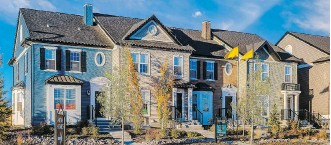 ??  ?? Legacy offers a wide spectrum of housing options, including estate, moveup and laned single-family homes, duplexes townhomes and condos.