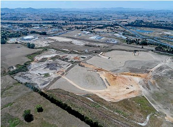 ??  ?? Northgate Business Park is strategically positioned to take advantage of northward growth in the region. Earthworks at the site are expected to be completed by the end of summer.