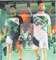 664ad9129c The Canton-based athletic brand developed the first-ever official UFC  uniforms with input from the mixed martial arts fighters