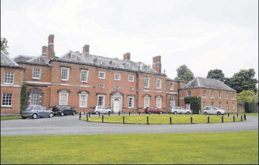 ?? Picture: Ruth Cuerden FM2623771 ?? Godmersham Park which Jane Austen frequently visited