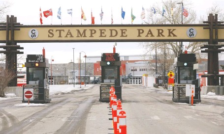 ?? DARREN MAKOWICHUK ?? The Calgary Stampede has reported losses of $26.5 million due to the impact of the ongoing COVID-19 pandemic.
