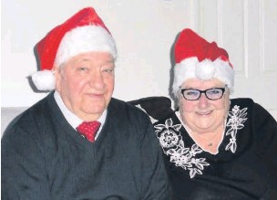 ??  ?? ●● John Rex Mullen and Joan Mullen nee Banks will be celebrating 60 years of marriage on Christmas Eve