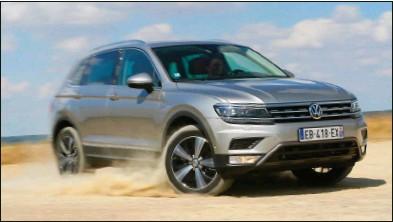 ??  ?? Dans tous les domaines, le nouveau Tiguan fait mieux que son prédécesseur. Volkswagen Tiguan 2.0 TDI 190 DSG 4Motion Carat Exclusive 49 780 € 190 ch CO2 : 149 g/km