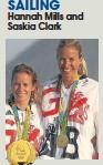 ??  ?? Hannah Mills and Saskia Clark
