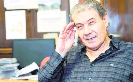 ??  ?? Víctor Hugo Morales, metido de lleno en la pelea por un mejor periodismo.