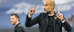 ?? ANDY RAIN EPA ?? PEP Guardiola: Master of total football.