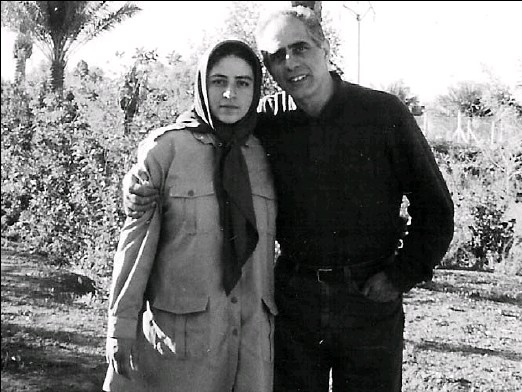 ??  ?? MustafaMohammady visits his daughter, Somayeh, at theMujahedin-e Khalq camp in Iraq. He estimates he has spent $60,000 on trips to the region to get her out.
