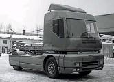 ??  ?? Полноприводный тягач НАМИ-0295 Русь в начале 1990-х показывали на нескольких выставках.
