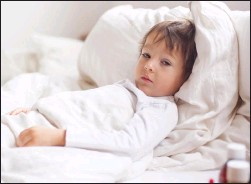 ??  ?? The longlasting symptoms of Covid are only just being recognised in children