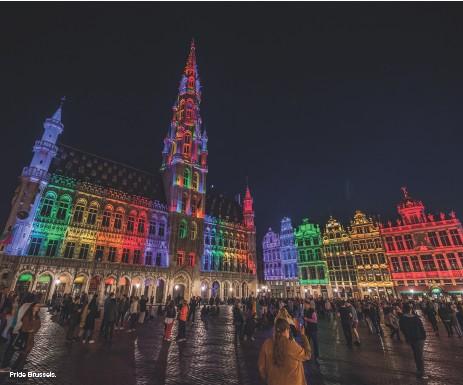 ??  ?? Pride Brussels.