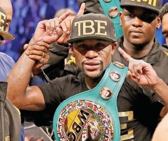 ?? / Archivo ?? Floyd Mayweather Jr. es hoy el mejor peleador libra por libra.
