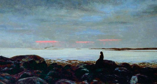 ??  ?? Pórarinn B. Porláksson (1867-1924), Sera d'estate a Reykjavik (1904, olio su tela), Reykjavik Art Museum