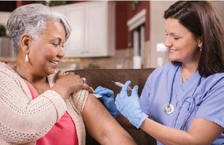 ?? ISTOCK ?? Getting the flu shot is not just about protecting yourself, but those around you including family, friends and co-workers, say experts.