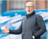 """??  ?? Ross County boss John Hughes is """"taking the positives"""" from the game"""