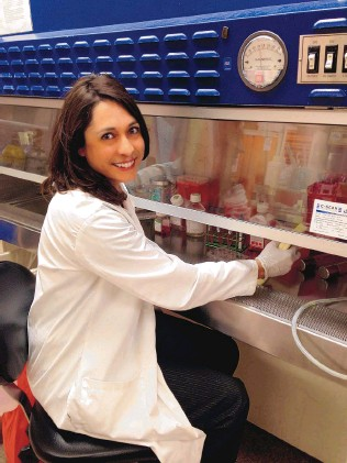 ??  ?? Dr. Kristina Trujillo is the founder and CEO of TNeuroPharma, which is developing a new blood test to detect Alzheimer's Disease earlier.