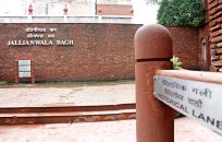 ??  ?? Tucked away in the narrow lane leading to the Golden Temple is Jallianwala Bagh. The grounds were washed with the blood of a thousand souls when Brigadier General Dyer ordered his troops to open fire on a crowd of peaceful protesters in 1919