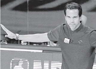 ?? MARKJ. TERRILL/AP ?? ErikSpoelstra'swords this season also could be the Heat's action plan, withCOVID-19 shadowing the team's roster decisions.