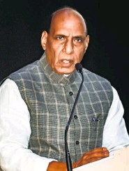 "??  ?? DEFENCE MINISTER Rajnath Singh. He told Parliament that India had made it clear that ""it would never accept the intrusion"" into its territory."