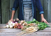 ??  ?? La plateforme permet de commander en direct ses légumes chez le producteur.