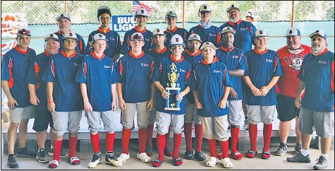 ??  ?? The Dun­dalk De­stroy­ers, an un­der-14 team spon­sored by the Amer­i­can Le­gion Post 38, won the Bal­ti­more County Ma­jor League ti­tle with a 7-0record and are off to a 2-0 start in the Har­ford County Fall Travel League.