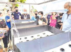 ??  ?? On April 10, Jannie and her N25 Liaison Office organised a Program Cinta Alam Sekitar where trainings on Aquaponics, Upcycling HDPE plastics and Biogas management were held for Kendara Court, Selesa Court, Kg Nagasiba and SJK St Anthony.