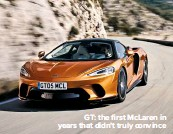 ??  ?? GT: the first McLaren in years that didn't truly convince