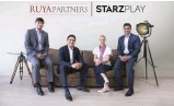 ??  ?? Mirza Beg, co-founder and managing partner of Ruya Partners; Rashid Siddiqi, co-founder and managing partner of Ruya Partners; Karin Baggström, co-founder and CFO of StarzPlay andMaaz Sheikh, co-founder and CEO of StarzPlay.