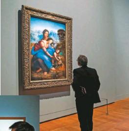??  ?? Una reflectografía infrarroja permite admirar la técnica pictórica del maestro italiano.