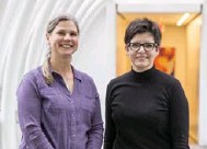 ?? CARLOS OSORIO/TORONTO STAR ?? Janet Smylie, left, and Sara Wolfe were key players in a study that found the census underestimated the number of Indigenous people in Toronto.