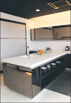 Pmace Nept This Iine Pt Kitchen Island Has Corners That Open Up Giving Easy Access To Often Dishes And Items Bofi Showroom Is At Pub Iot 6