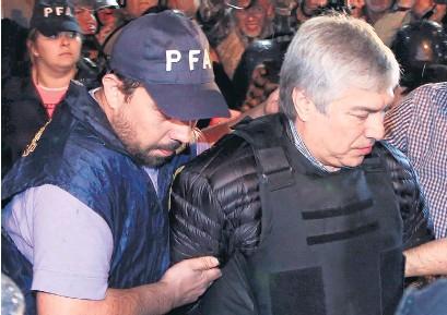 ?? NA ?? El empresario Lázaro Báez fue encontrado culpable por lavado de activos agravado.