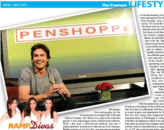 PressReader - The Freeman: 2012-06-08 - MEETING IAN