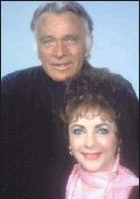 ?? With Richard Burton, whomshewed twice. 1983 AP photo ??