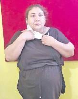 ??  ?? Myrian Barrios Duarte, arrestada.