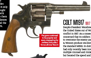 ??  ?? The guns continued to be popular and were snapped up by civilians and police forces all over the US
