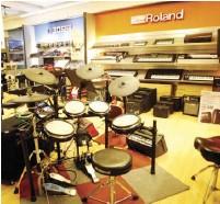 ??  ?? Roland digital instruments