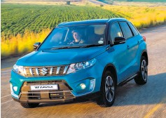 ??  ?? Previously only available with a 1.6-litre naturally aspirated engine, Suzuki SA now also offers the Vitara crossover with a 1.4-litre turbo-charged plant