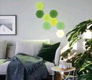 ??  ?? Nanoleaf's modular Hexagon light panel smarter kit, £ 179.99 ( uk- shop. nanoleaf. me)