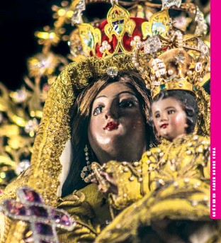 ??  ?? Virgen de la Caridad del Cobre, patrona de Cuba.