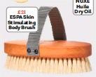 ??  ?? £21 ESPA Skin Stimulating Body Brush